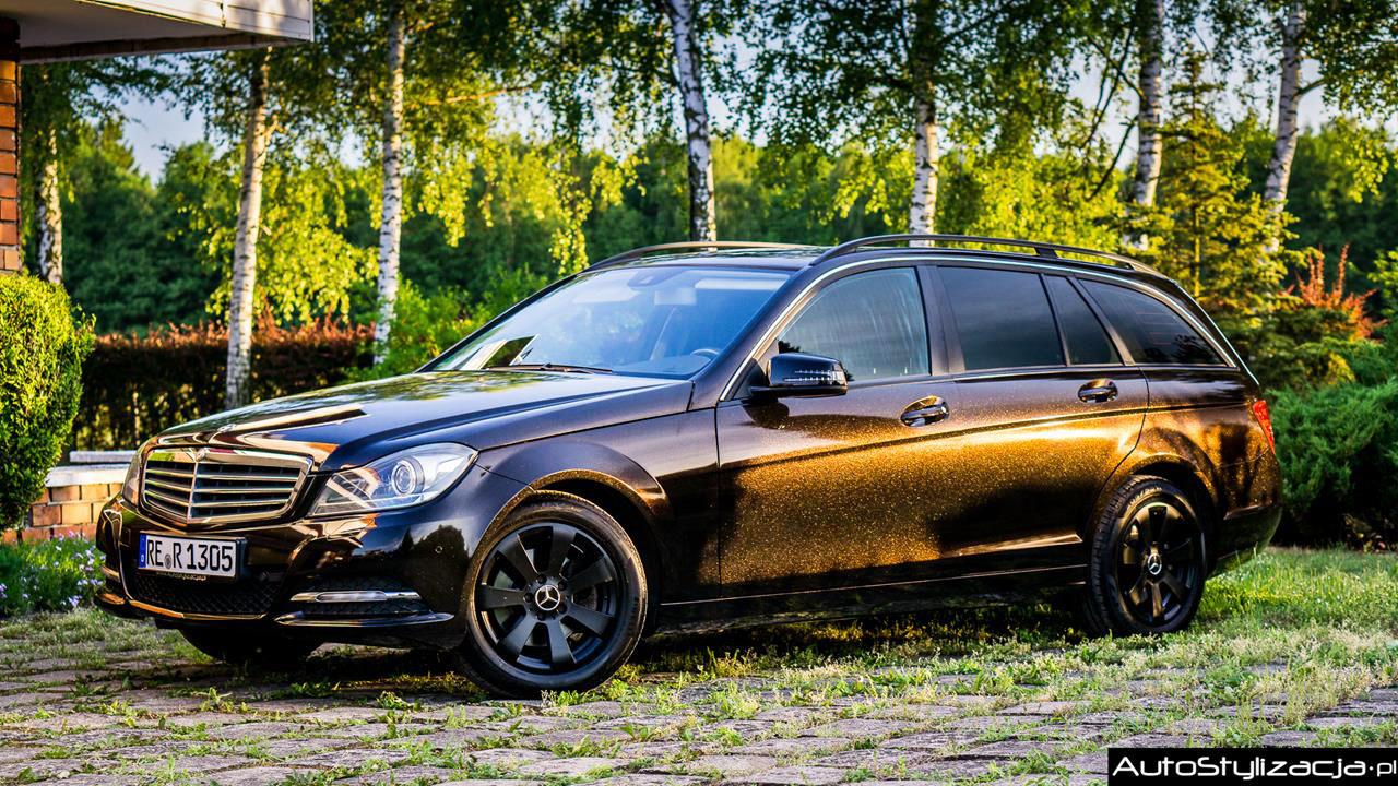Foliowanie Auta Mercedes C