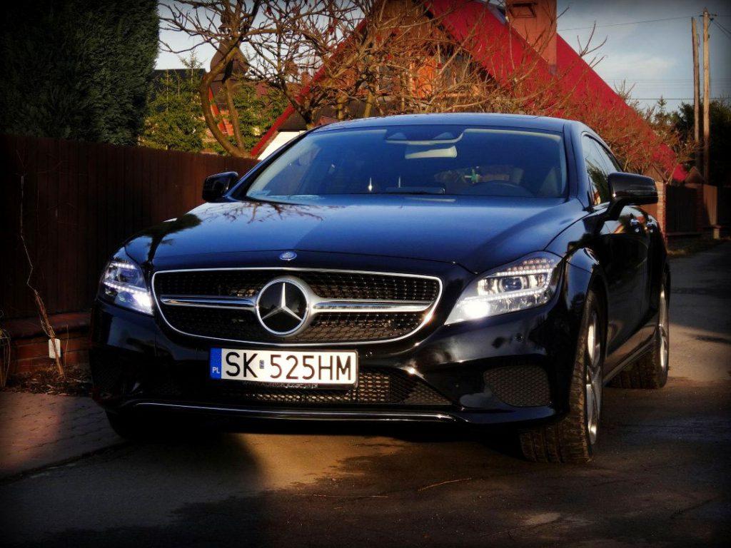 Oklejanie Folią Auta Mercedes CLS