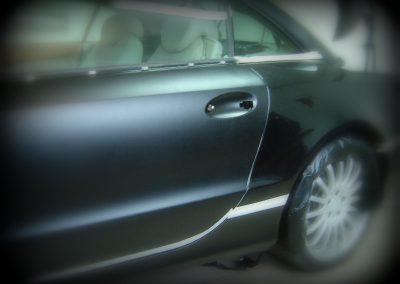 Mercedes SL Czarny Mat