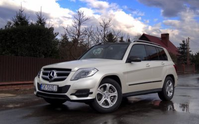 Oklejony Samochód Mercedes GLK