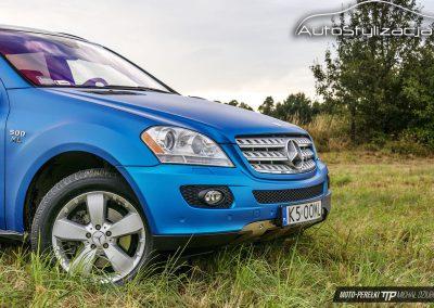 Mercedes ML Niebieski Metalic