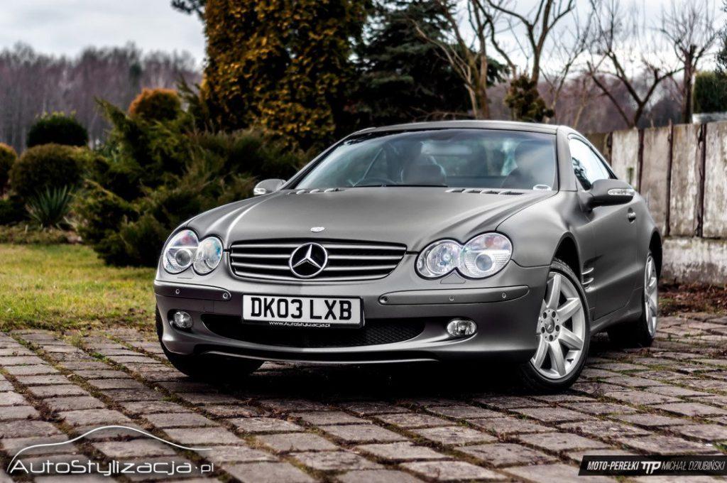 Foliowanie Auta Mercedes SL