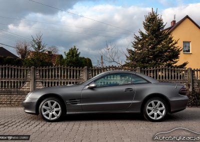 Mercedes SL Matte Dark Grey