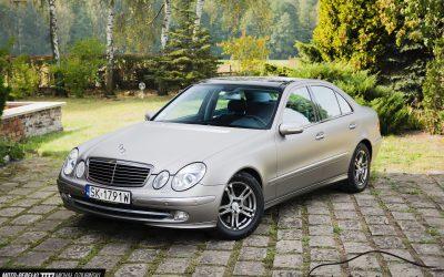 Wyklejanie Folią Auta Mercedes E W211