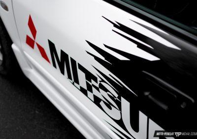 Mitsubishi Galant Folia Diamond White & Gloss Metallic