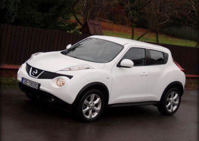 Zmiana Koloru Auta Nissan Juke