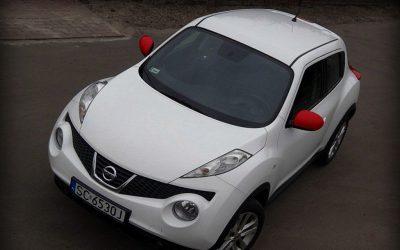 Oklejenie Białą Folią Nissana Juke
