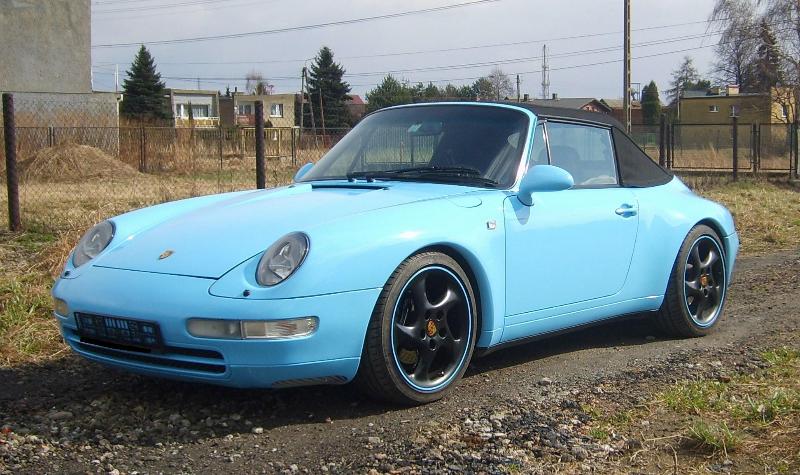 Oklejanie Auta Porsche Folią