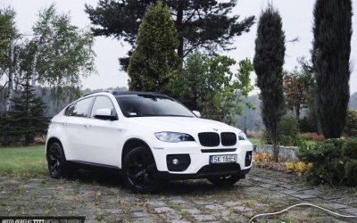 Foliowanie Samochodu BMW X6 Folią Biały Połysk