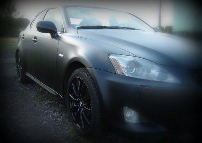Zmiana koloru auta Lexus IS250