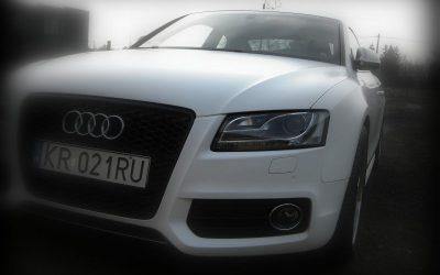 Profesjonalne oklejanie samochodu AUDI A5