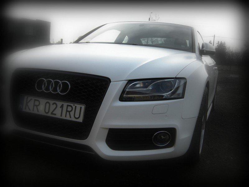 Foliowanie Samochodu Audi A5