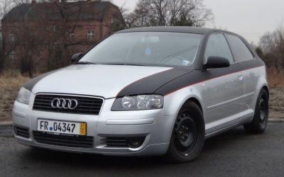 Oklejanie Pojazdu Audi A3