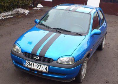 Pasy na aucie Opel Corsa