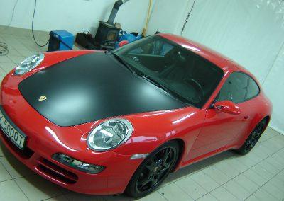 Porsche 911 Czarny Mat