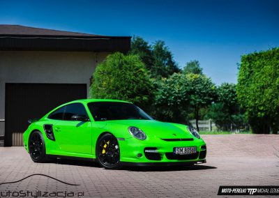 Foliowanie Karoserii Auta Porsche 911 Turbo