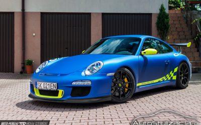 Foliowanie auta Porsche 911 GT3