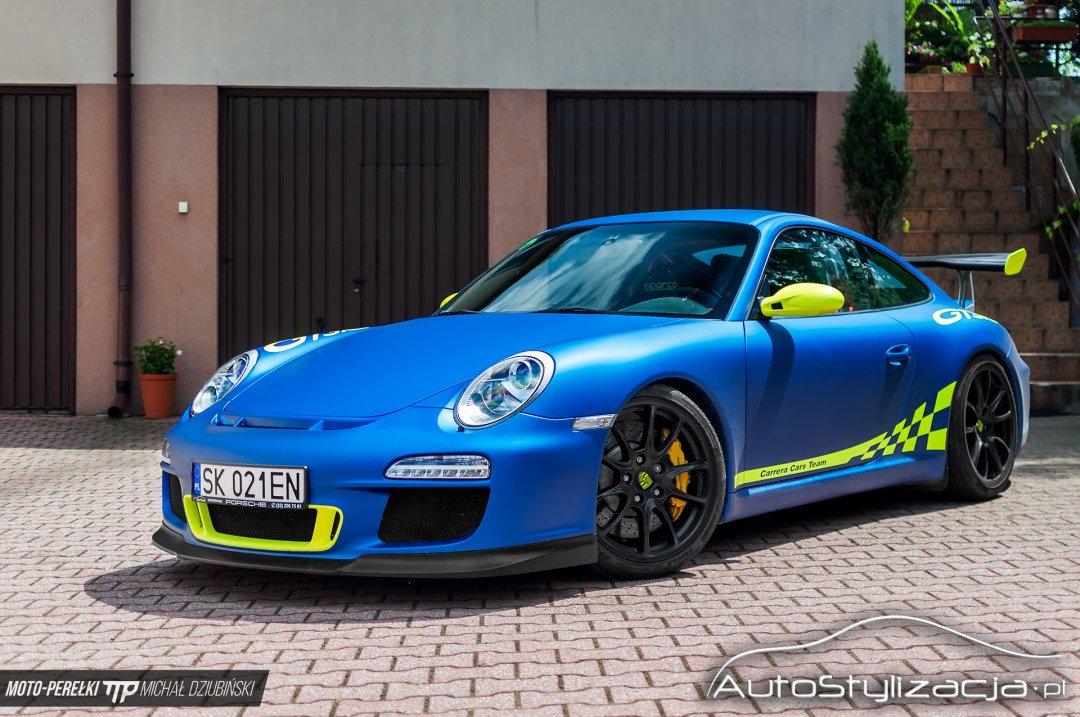 Stylizacja Auta Porsche 911 Folią
