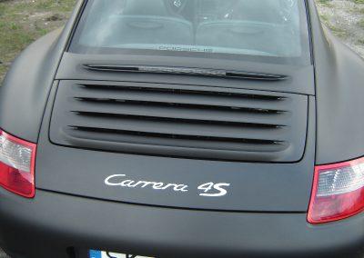 Porsche Folia Black Mat