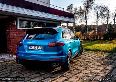 Porsche Gloss Blue Metallic