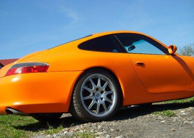 Porsche 911 Orange Matt