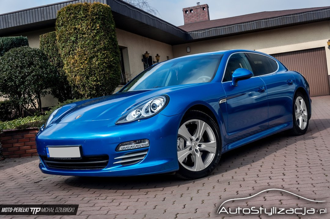 Oklejanie Samochodu Porsche Panamera