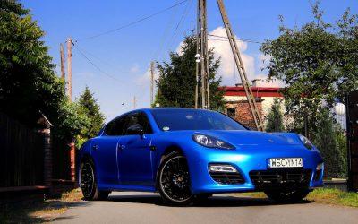 Profesjonalne Oklejanie Porsche Panamera Folią