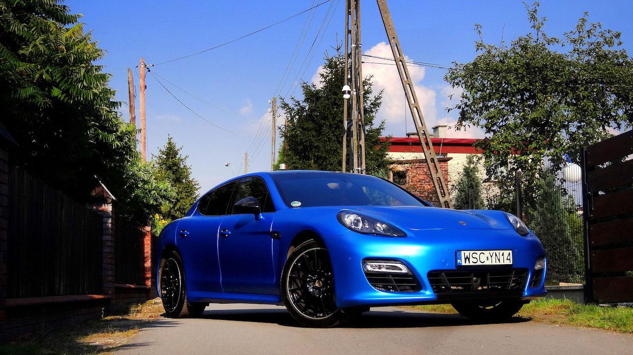 Oklejanie Folią Auta Porsche Panamera