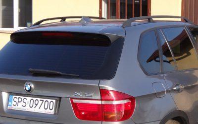 Przyciemnianie szyb auta BMW X5