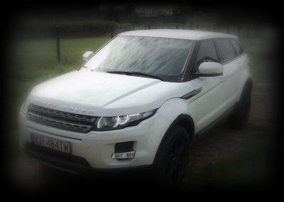 Range Rover Czarny Połysk