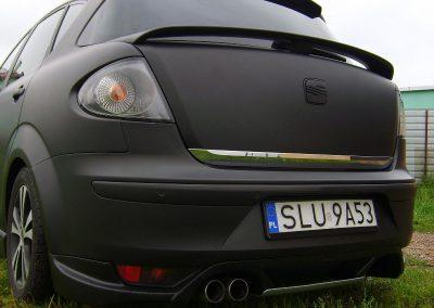 Seat Toledo Black Mat