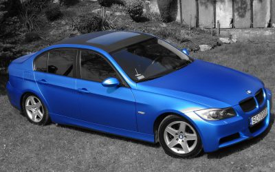 Oklejanie Pojazdu BMW 3 Folią
