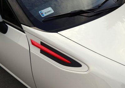 Subaru BRZ Oklejanie Elementów