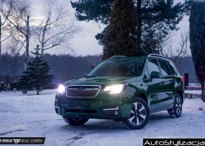 Subaru Forester Gloss Dark Green