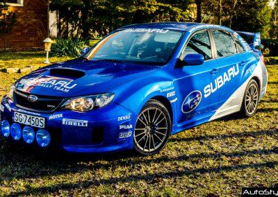 Oklejanie Samochodu Sportowego Subaru Impreza