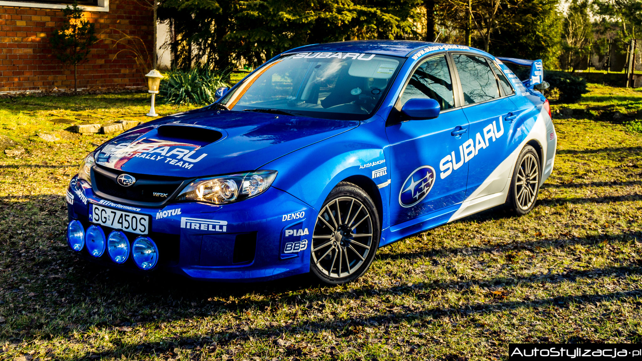 Oklejanie Samochodu Subaru