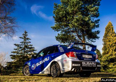 Subaru Impreza WRC Rally Acropolis