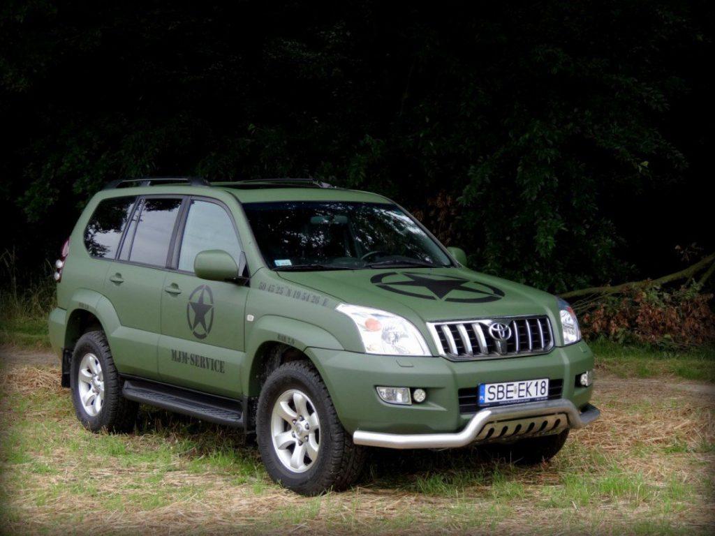Zabezpieczenie Lakieru Auta Toyota