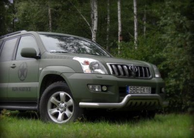 Toyota Land Cruiser Zielony Mat
