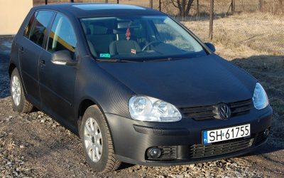 Oklejanie samochodu VW Golf