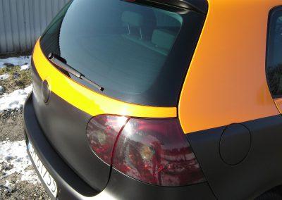 VW Golf V Czarny Mat