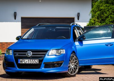VW Passat B6 Folia Satin Perfect Blue