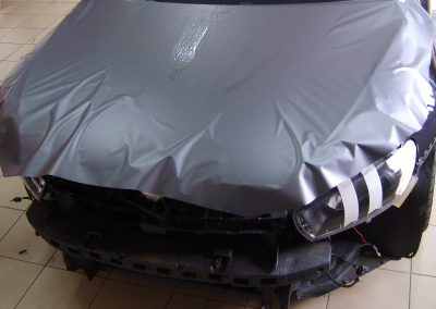 VW Scirocco Folia Szary Mat