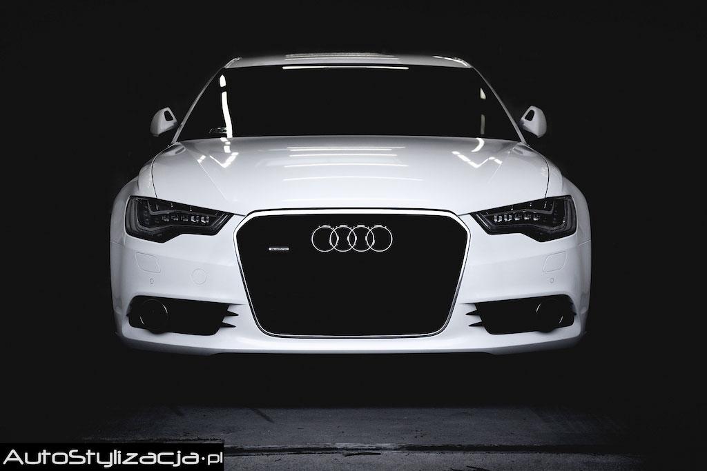 Audi A6 Oklejone Folią Avery