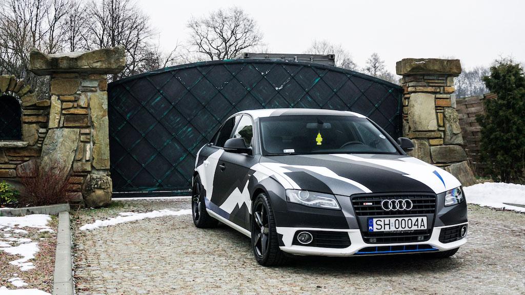 Audi Folia Kamuflaż Camo