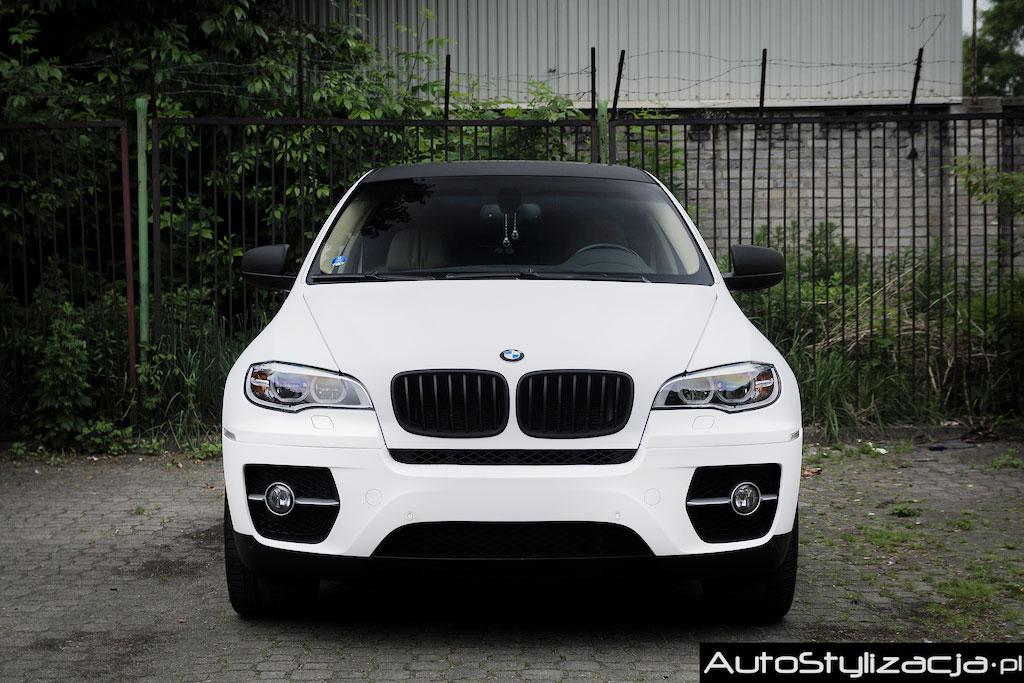 BMW X6 Folia Bordowy Metalik