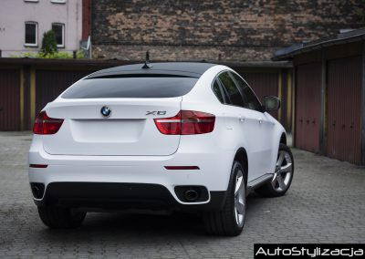 BMW X6 Oklejone Folią Avery i 3M