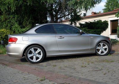 BMW 1 Coupe Prze Oklejeniem Folią