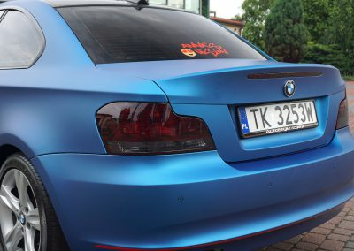 Car Wrapping BMW 1 Coupe