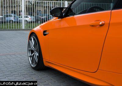 Folia Gloss Orange BMW M3